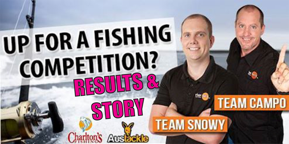 River 949fm Team Campo vs Team Snowy Fishing Challenge