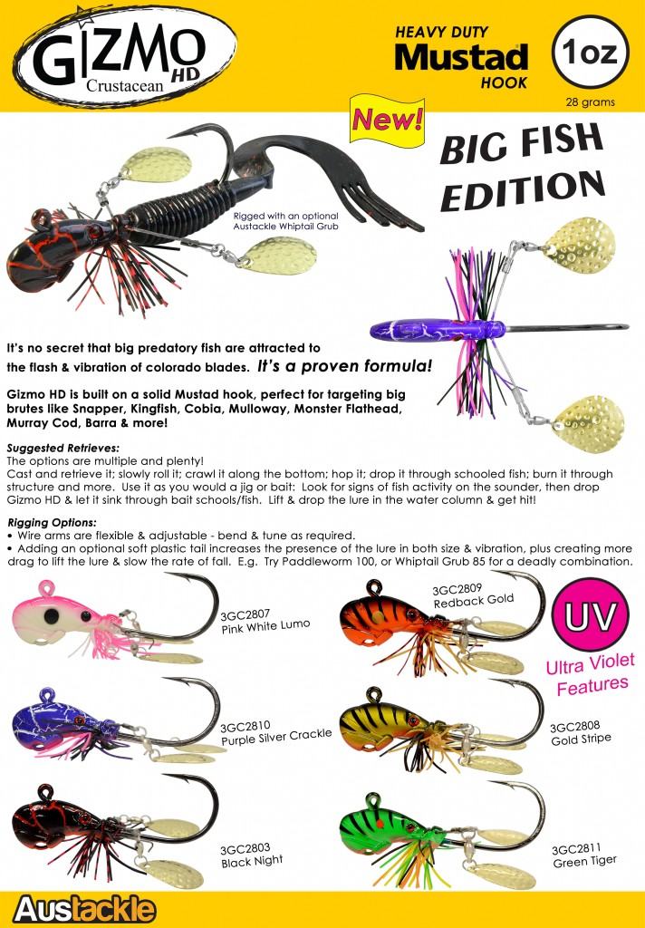 Gizmo HD Crustacean catalogue page jpg