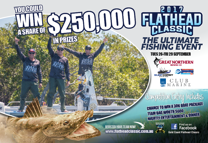 Gold Coast Sport Fishing Club 2017 Flathead Classic